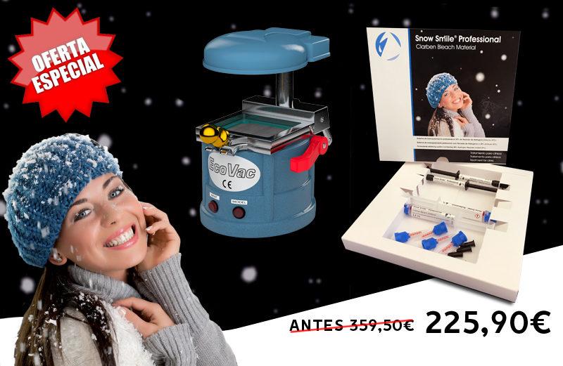 CLARBEN 2 SNOW SMILE PROFESSIONAL + 1 ECOVAC